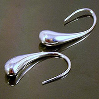 Wholesale Low Price Dangle Earrings - Wholesale - - Retail lowest price Christmas gift 925 silver Earrings E04