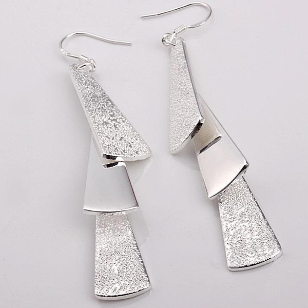 Ingrosso - - Prezzo di vendita al dettaglio più basso regalo di Natale in argento 925 che appende tre orecchini E015