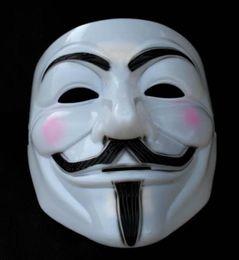 China Free shipping V for Vendetta party mask Halloween Mask Super Scary masks Horror masks V for Vende suppliers