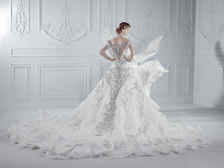 Custom made wedding dresses beautiful bride fashion for Big beautiful wedding dresses