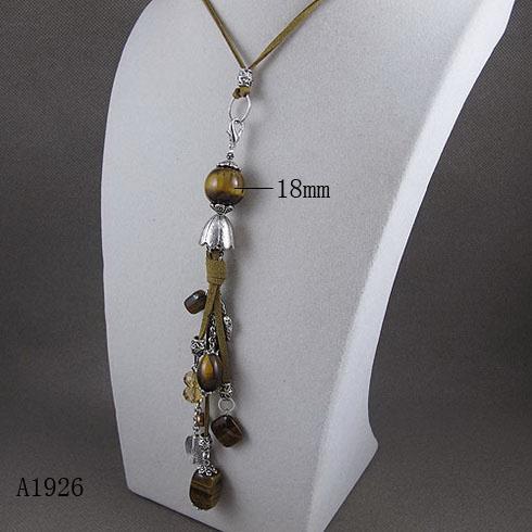 Elegante Collana di cristallo di pietra di occhio di Tigre collana i regali di Natale gioielli in vendita a caldo 5pcs/lot A1926