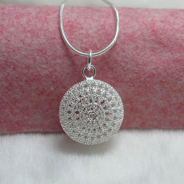 Hurtownie - detaliczna najniższa cena świąteczny prezent 925 srebrny moda biżuteria darmowa wysyłka naszyjnik n37