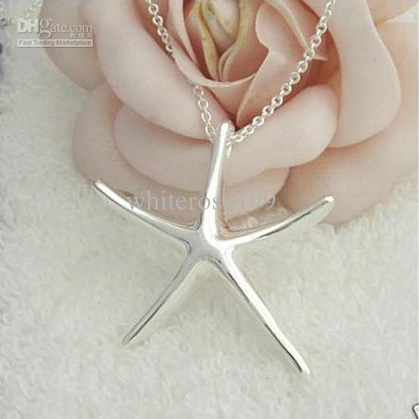Wholesale - Retail lowest price Christmas gift 925 silver fashion Jewelry Necklace N65