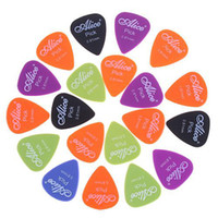 Wholesale Nylon Guitar Pick Plectrum - Alice 0.81mm Smooth Nylon Guitar Picks Plectrums I27 20pcs lot
