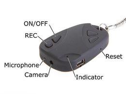 Wholesale Micro Spy Car - Key-chain Car Key Security Spy mini DV Camera Recorder and Audio Recorder + 8GB micro HC SD card!