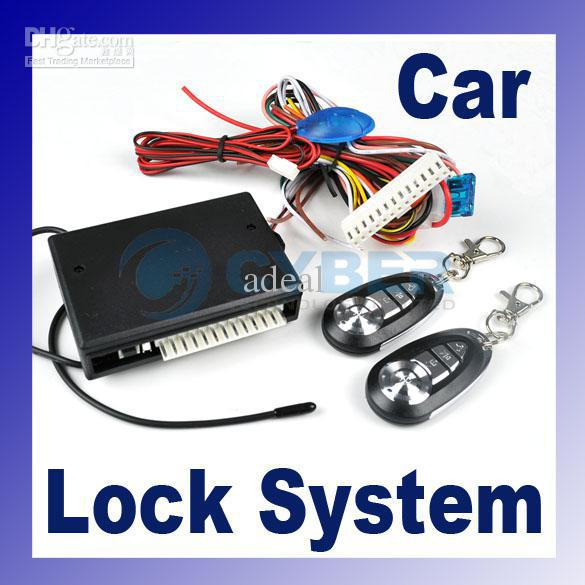 Kit Universal Car Remote Central Lock Locking Keyless Entry System