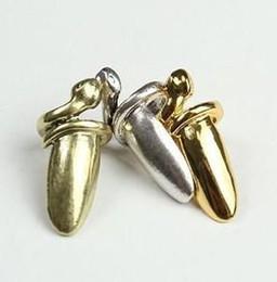 Wholesale Nail Cover Ring - New!! Snake nails ring .alloy snake nail cover.30pcs lot. Free shipping