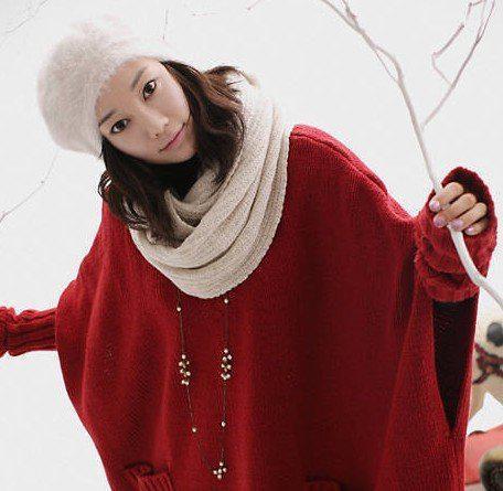 Stilvolle Baretthutkaninchenhaarkappe Weihnachtsgeschenkfrauen des heißen Verkaufs nagelneues /