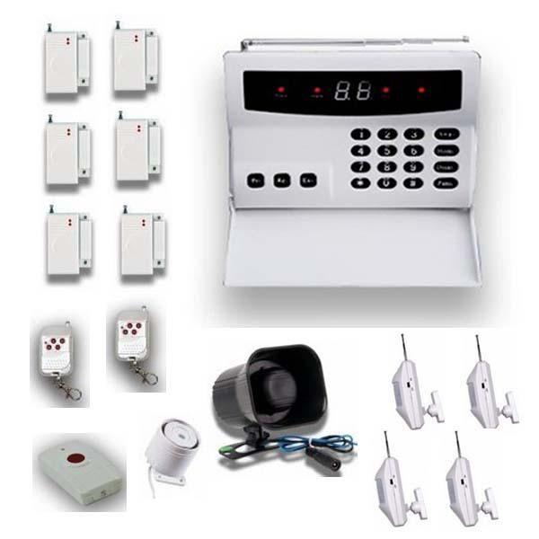 Wireless 32  zone home security alarm system kit with 4 PIR detector  1st  Generation. Wireless 32 Zone Home Security Alarm System Kit With 4 Pir