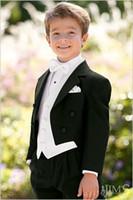 Wholesale Kids Vest Tie - Kid Complete Designer Boy Wedding Suit Boys' Attire Custom-made (Jacket+Pants+Tie+Vest) F71