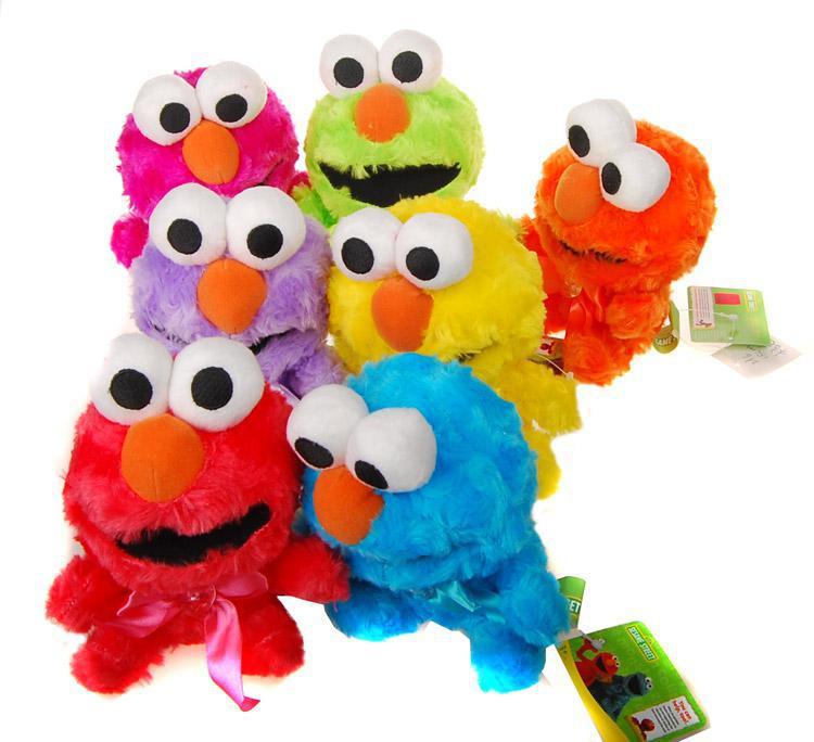 2018 Baby Sesame Street Elmo Toys Lovely Plush Doll Kids Cute Toys
