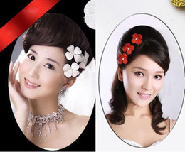 Wholesale New Style Hair Bride - new style Four Leaf Clover bride hairpin Wedding Bridal Tiaras Hair Accessories