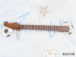 pescoço de guitarra para pára-lamas Desconto NEW COSTOM SHOP 22 grau noz pescoço guitarra elétrica