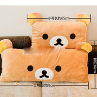 Wholesale san x RILAKKUMA toys plush pillow toys size to chose quality material toys b190