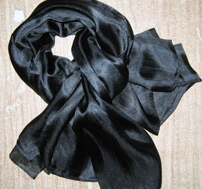 여자 숙녀 일반 단색 100 % 실크 스카프 목도리 싸개 SCARF 스카프 180 * 90cm / # 1551