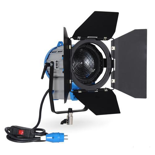 Éclairage Continu Vidéo DV Studio Fresnel Tungstène Lumière 650 W + Ampoule + Barndoor GY9.5 via Fedex DHL