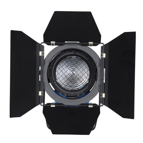 지속적인 조명 비디오 DV 스튜디오 프레 넬 텅스텐 라이트 650W + Bulb + Barndoor GY9.5 via Fedex DHL