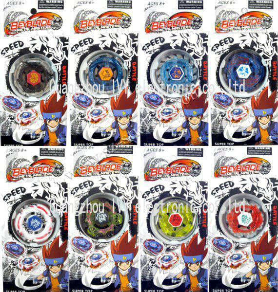 New White Packaging Beyblade Metal Fusion Spin Top Toy ...
