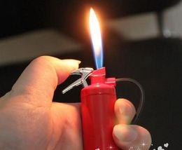 Wholesale Cute Lighters - 20PCS creative cute small fire extinguishers, fire extinguisher lighter novelty lighters gas lighter