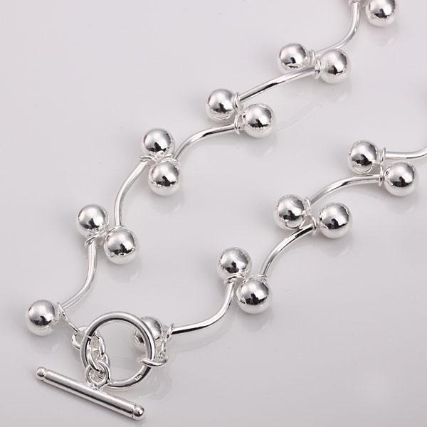 Groothandel - detailhandel laagste prijs kerstcadeau, gratis verzending, nieuwe 925 zilveren mode ketting n136