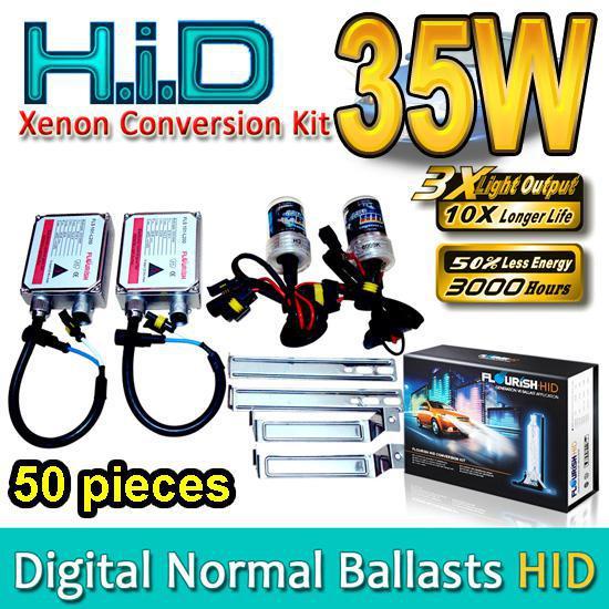 40 КОМПЛЕКТОВ HID Ксеноновые комплекты для переоборудования H1 H3 H4 H7 H8 H9 H11 H13 HB1 HB3 HB4 HB5 9004 9005 9006 9007 Подлинные балласты переменного тока Нормальные балласты 35 Вт Высокое качество