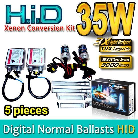 HID 크세논 변환 키트 H1 H3 H4 H7 H8 H9 H11 H13 HB1 HB3 HB4 HB5 9004 9005 9006 9007 정품 AC 일반 안정기 35W 고품질