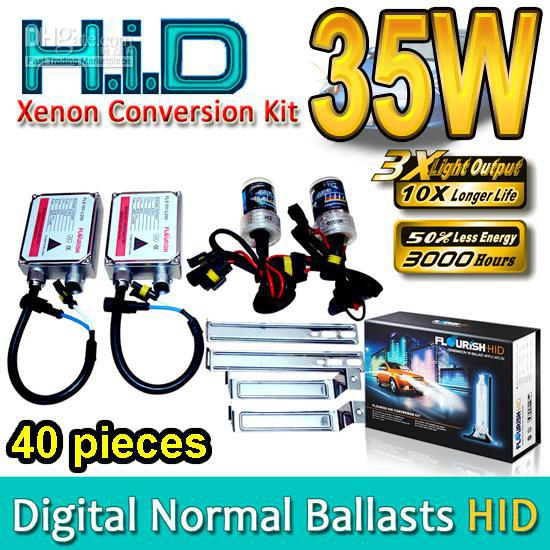 HID Xenon Conversion Kits H1 H3 H4 H7 H8 H9 H11 H13 HB1 HB3 HB4 HB5 9004 9005 9006 9007 Genuine AC Normal Ballasts 35W High Quality