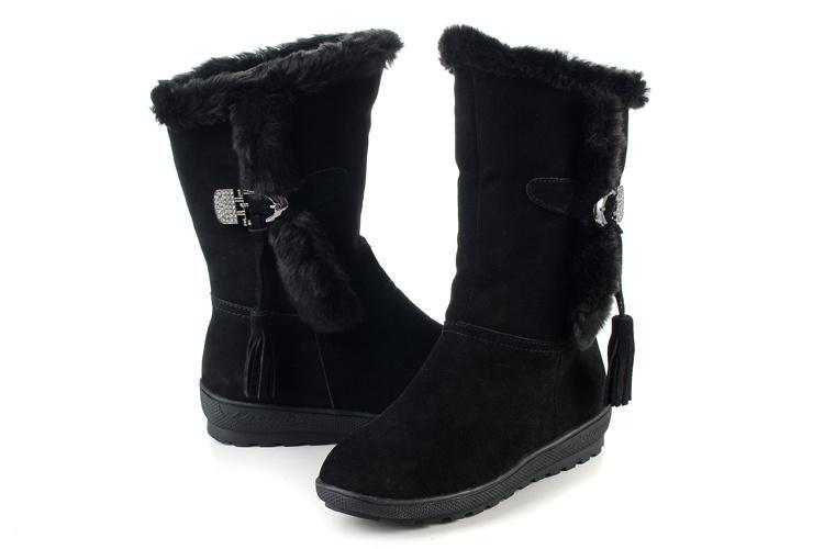 com high knee winter amazon boot warm comforter snow polar comfy womens rain products comfortable boots quilted dp black