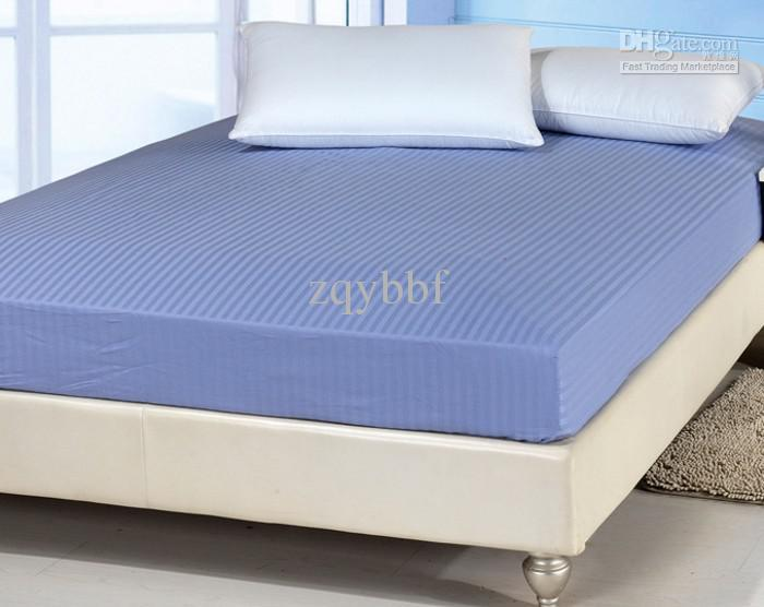 100 Satin Cotton Bottom Fitted Sheet With Single Doulbe Queen