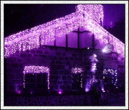 256led holiday wedding party christmas lights purple lights icicle lights 2033ft deck string lights strings of lights from jenniferlhy 10356 dhgate