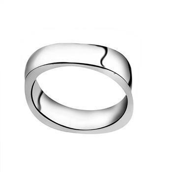 Partihandel - Retail Lägsta pris Julklapp, Gratis frakt, Ny 925 Silver Fashion Ring YR004