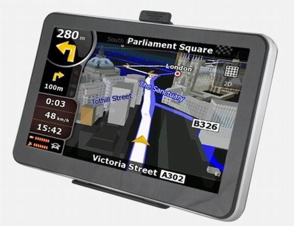 2018 7 Inch Hd Touch Screen Car Navigation Global