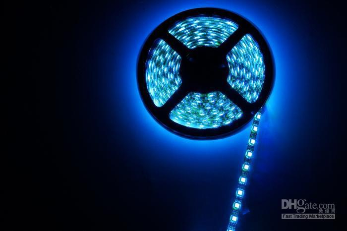 RGB Waterproof LED Strip Light SMD5050 300 led rope light +12V/6A Power Supply +IR Remote Controller