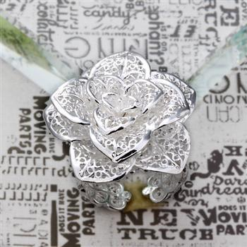 best selling Wholesale - Retail lowest price Christmas gift, free shipping, new 925 silver fashion Ring R101