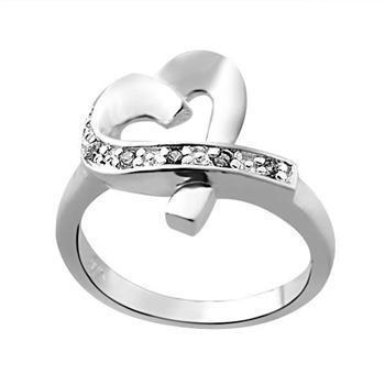 Commercio all'ingrosso - regalo di Natale di prezzi più bassi al dettaglio, spedizione gratuita, nuovo anello di moda in argento 925 R36