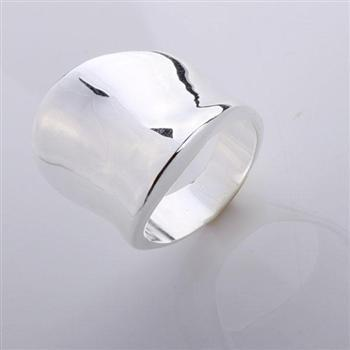top popular Wholesale - Retail lowest price Christmas gift, free shipping, new 925 silver fashion Ring R52 2020