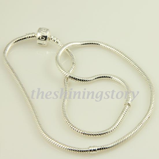 001 chamilia biagi Halskette Schmuck europäische Halskette passen großes Loch Perle Sterlingsilber 925 Pank001 hohen Modeschmuck gefüllt
