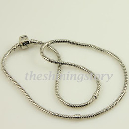 Wholesale Cheap Sterling Silver Chains Wholesale - 002 chamilia biagi bracelet jewelry european bracelets fit big hole beads 926 sterling silver filled Pank002 cheap china fashion jewellery