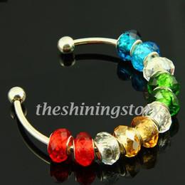Wholesale Jewellery Designs Bracelets - New design european biagi charms bracelets with big hole murano troll glass beads jewelry handmade high fashion jewellery freeshipping