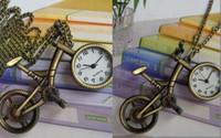 Wholesale Mens Pc Quartz Watch - 20 Pcs Antique Bicycle Quartz Necklace Watches Metal Watches Men's Mens Women's Ladies Pocket Watch