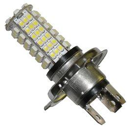 Wholesale Car Led Show Lights - H4 102-LED SMD 3528 LED Car Auto White Light Bulb for sample 2pcs lot top show