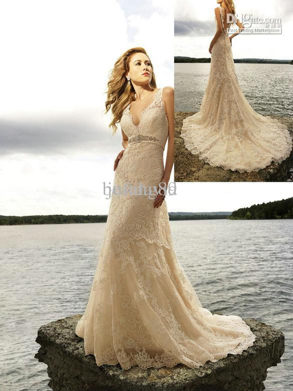 Discount cheap 2012 lace vintage wedding dress designer for Vintage wedding dress designers