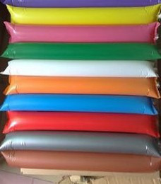 Wholesale Inflatable Clapper Sticks - Wholesale Inflatable Balloon Stick Clappers Balloons Cheer World Cup Bar foot game paty Concert