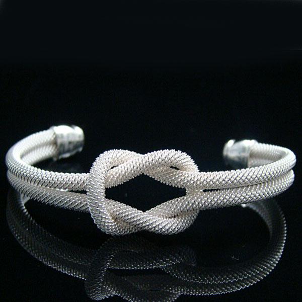 Wholesale - Retail lowest price Christmas gift, new 925 silver fashion Bracelet B091