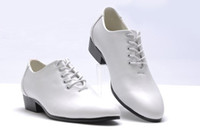 Wholesale groom wedding shoes white - White Men Dress Shoes Groom Wedding Shoes Leather Lace Up Men Shoes Sneaker