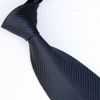 cravate de couleur marine achat en gros de-hommes cravates cravates de couleur unie cravate marine cravate cravate cravate 19colors cravates d'affaires cravates tissées