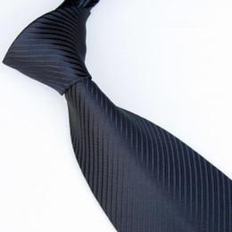 Wholesale Neckties Navy - men ties solid color ties neckties navy tie shirt tie neck tie 19colors business ties Woven ties