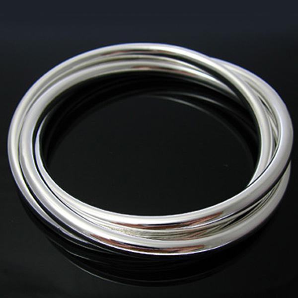 Großverkauf - Kleinster Preis des Kleinhandels Weihnachtsgeschenk, freies Verschiffen, neues silbernes Art und Weise Armband 925 B047