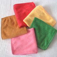 Wholesale Microfiber Cleaning Set - 180pc lot 20cm*20cm Microfiber cleaning cloth Towel , bath towel,Travel Camping Towels multipurpose