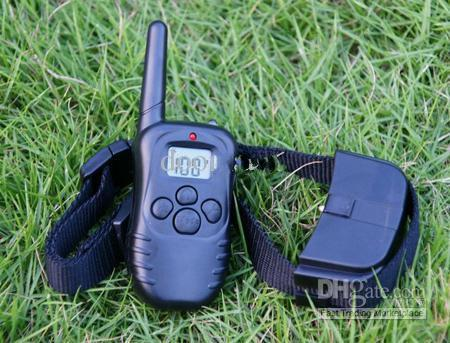 For 2 Dogs Dog Remote Training Collar pet Anti Bark Stop Barking with retail box